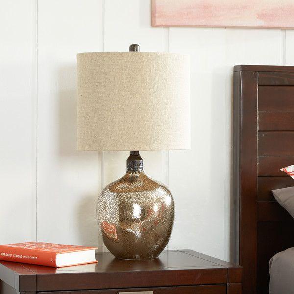 Glass · wayfair com mercury glass lamp