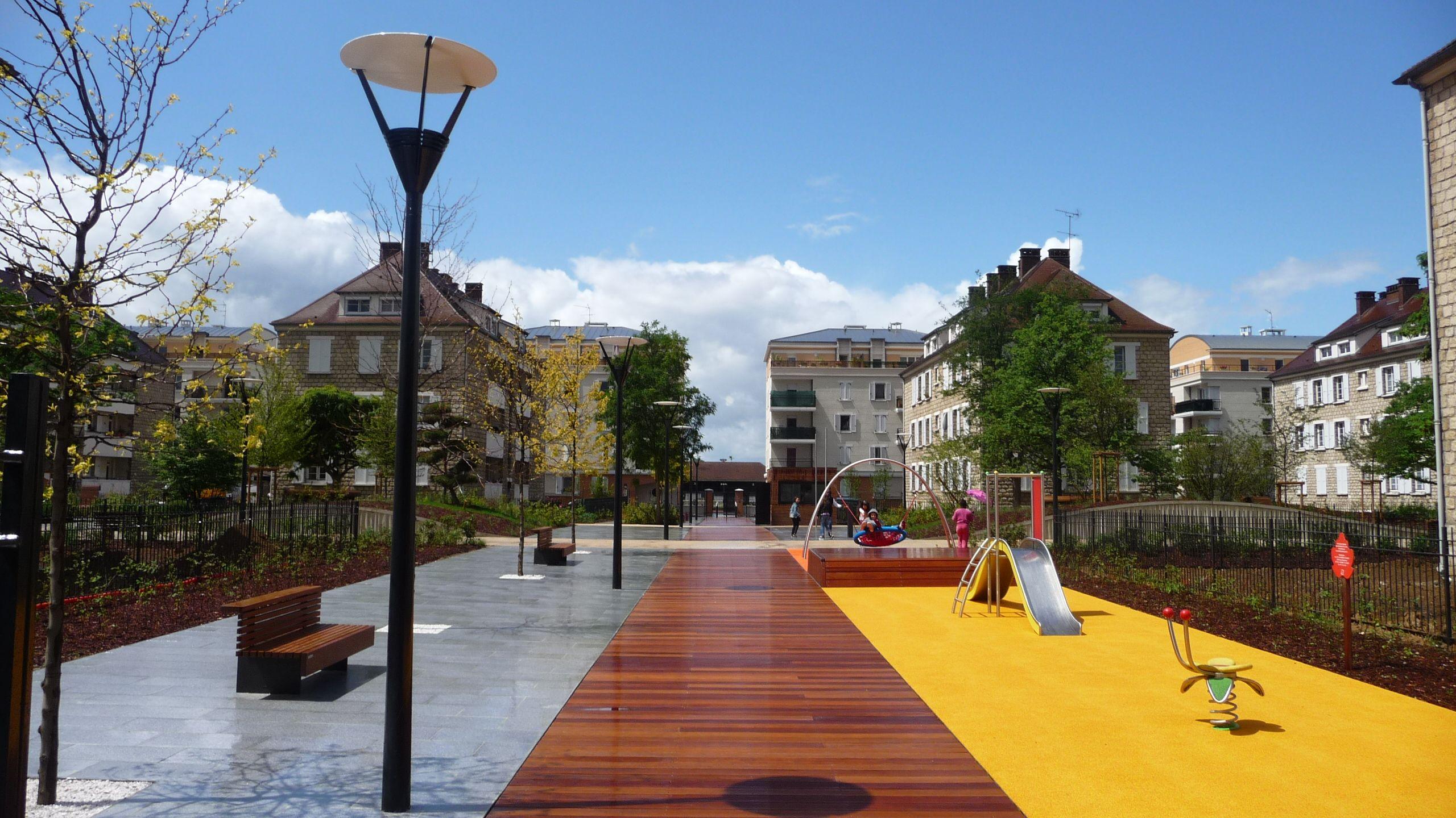 atelier villes paysages parc de la sabli re la. Black Bedroom Furniture Sets. Home Design Ideas
