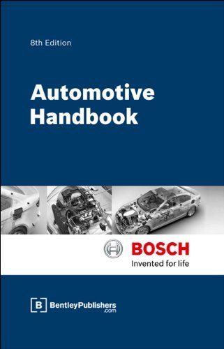 Ray Bosch Automotive Handbook 8th Edition By Robert Bosch Gmbh Http Www Amazon Com Dp 0837616867 Ref Cm Bosch Automotive Deals Automotive Engineering