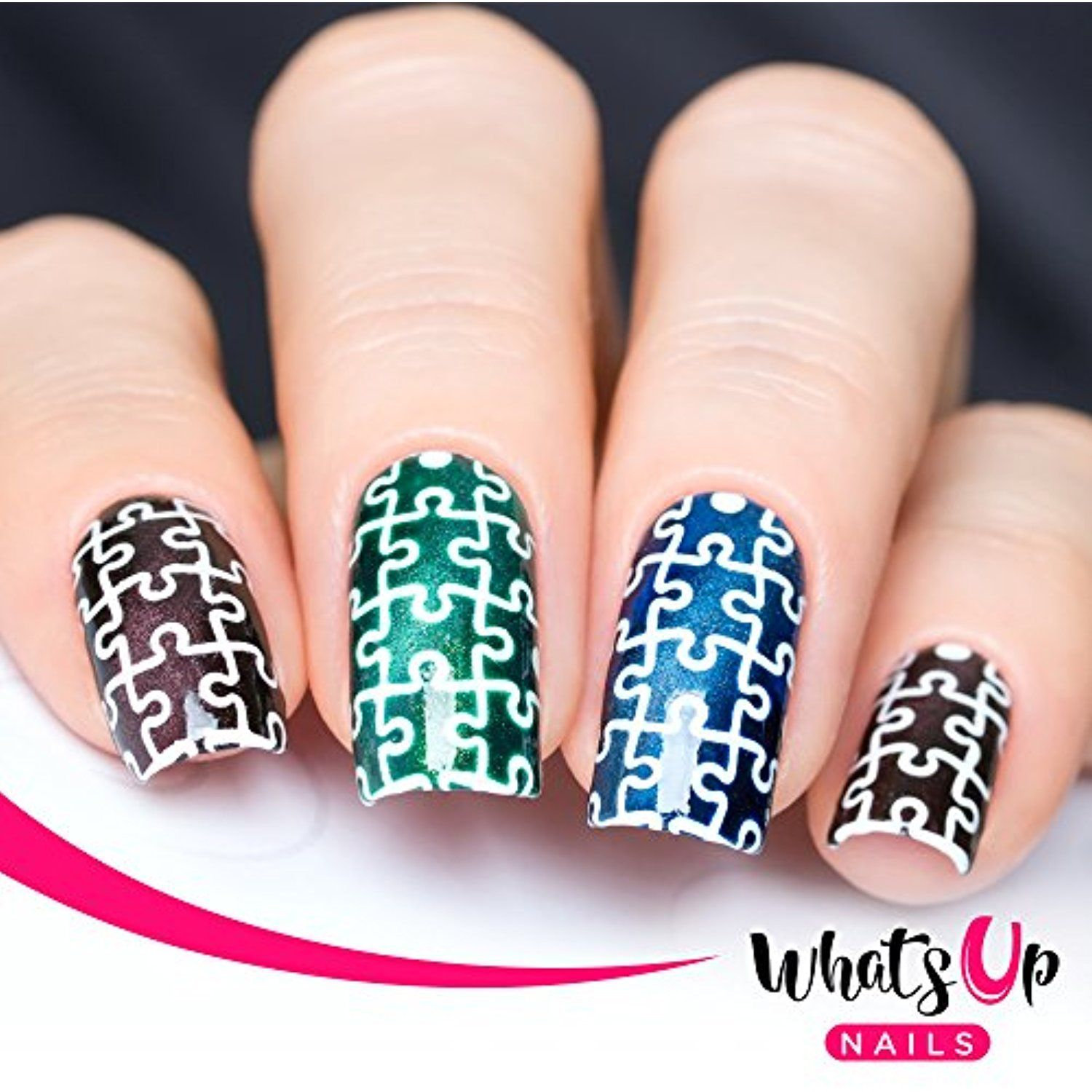 Whats Up Nails Puzzles Nail Stencils Stickers Vinyls For Nail Art