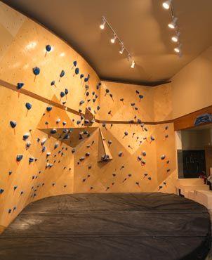 Home indoor rock climbing wall u rock climbing home u