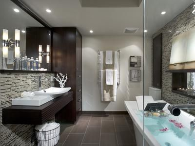 5 Stunning Bathrooms By Candice Olson Idées Pour La Maison Pinterest Hgtv And Bathroom Designs