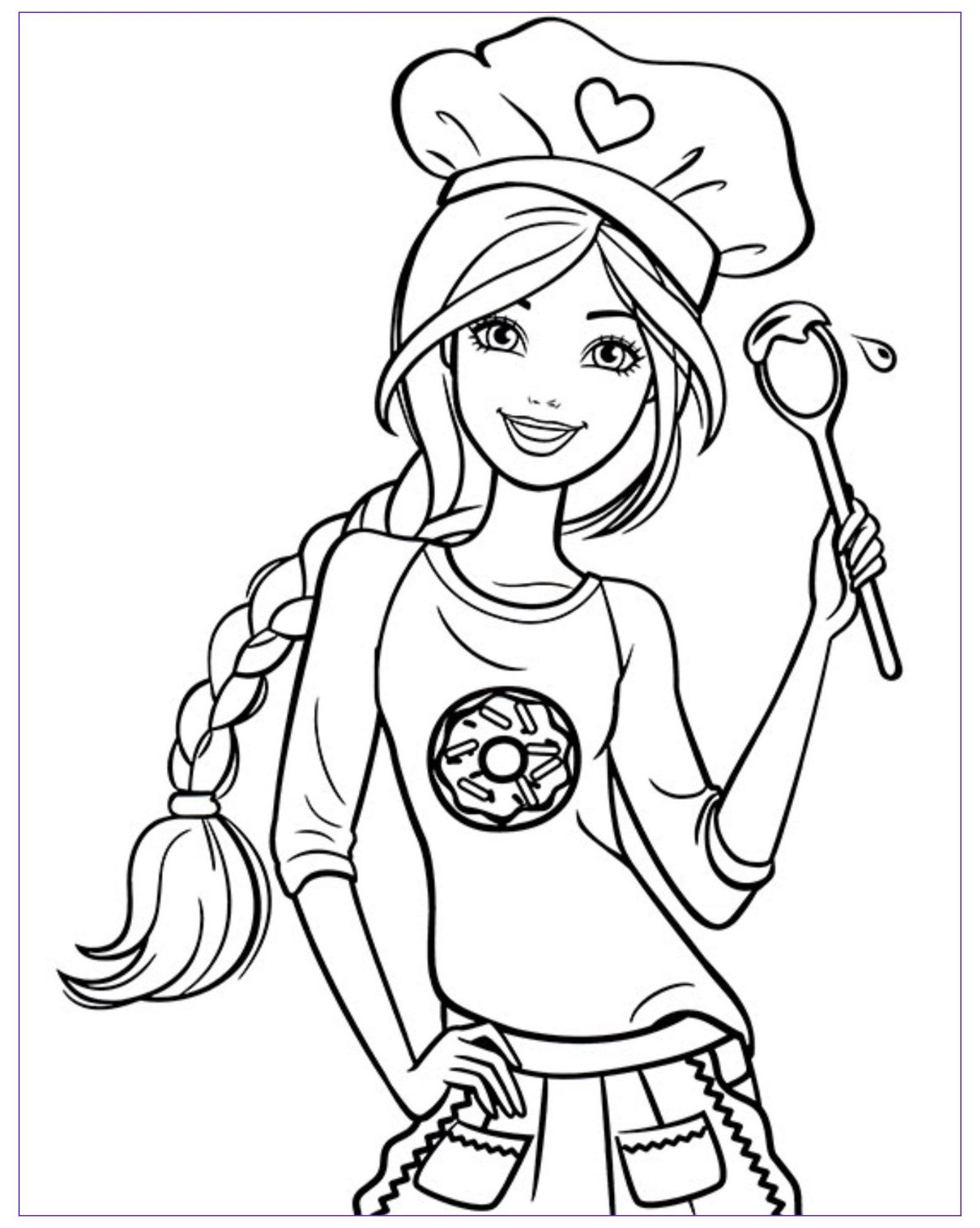 45 Luxury Images Of Free Printable Barbie Coloring Pages Barbie Coloring Pages Barbiecolo In 2021 Barbie Coloring Pages Cute Coloring Pages Princess Coloring Pages