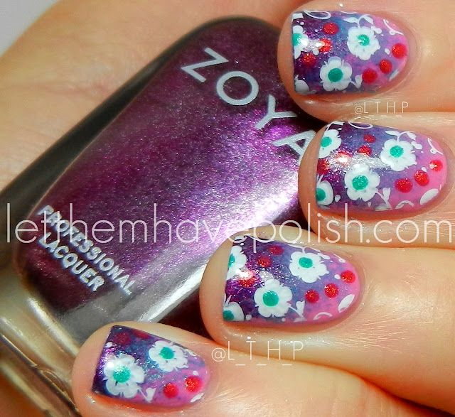 Let Them Have Polish Zoya Shelby Zuza And Carly Nail Art Paws