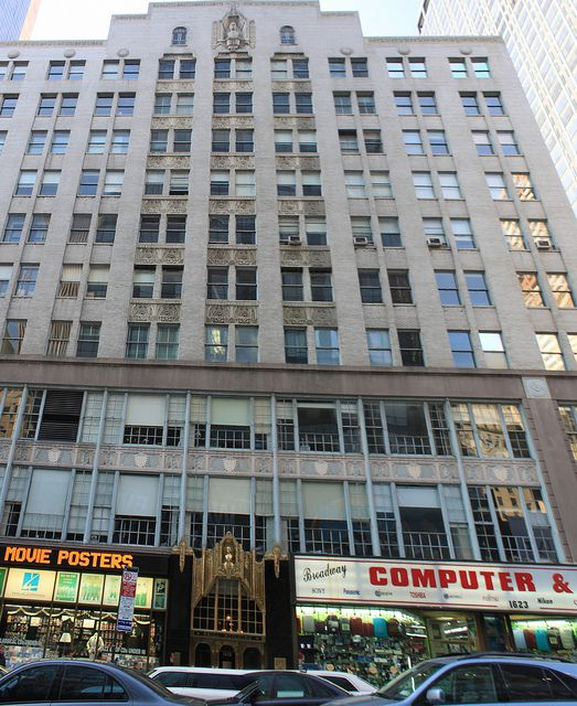 Midtown Manhattan, New York City, New York, United States of America    Since its construction in 1930-31, the 11-story Brill Building has been synonymous with American music – from the last days of Tin Pan Alley to the emergence of rock and roll. Occu