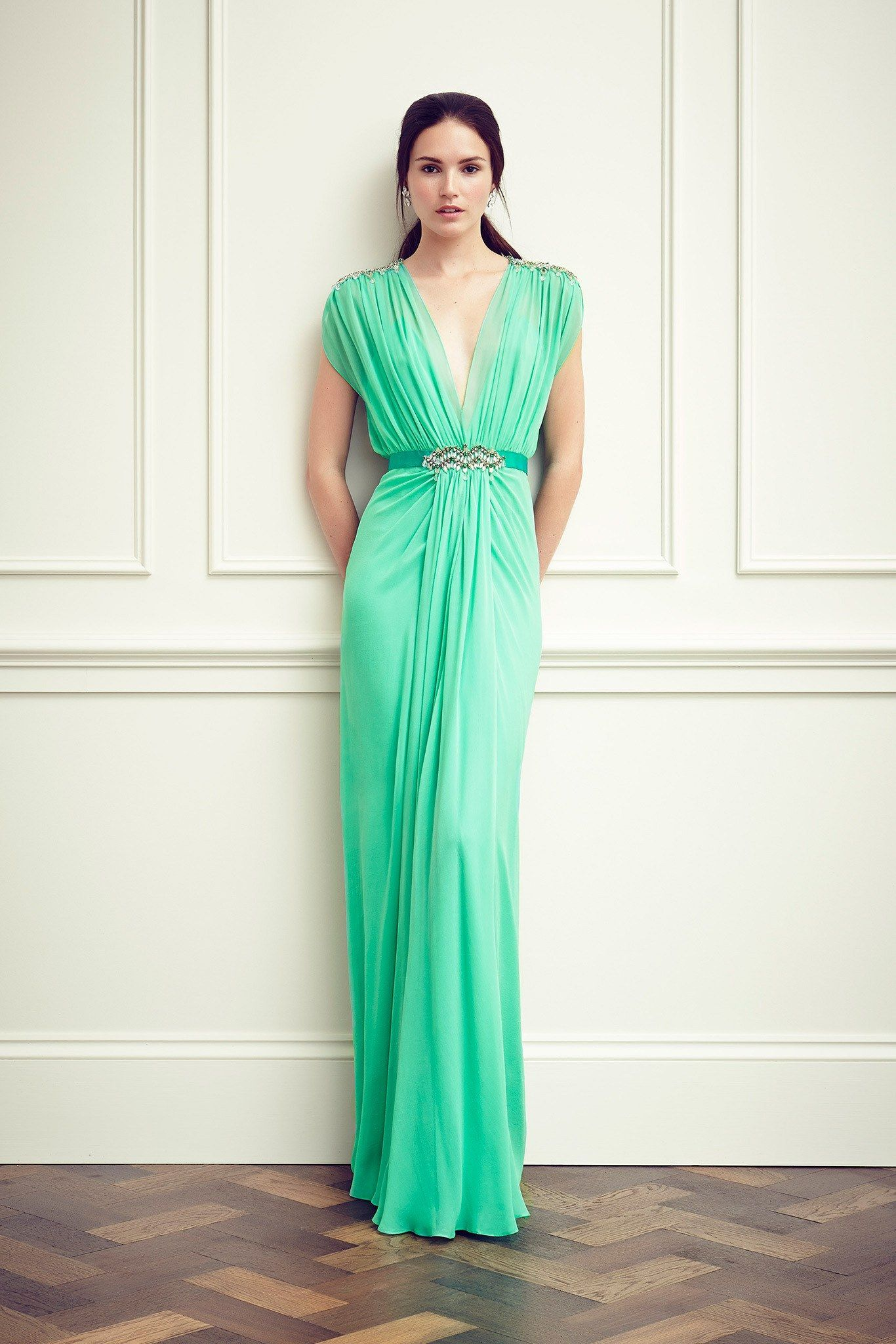Jenny Packham Resort 2015 Fashion Show | Jenny packham, Resort 2015 ...