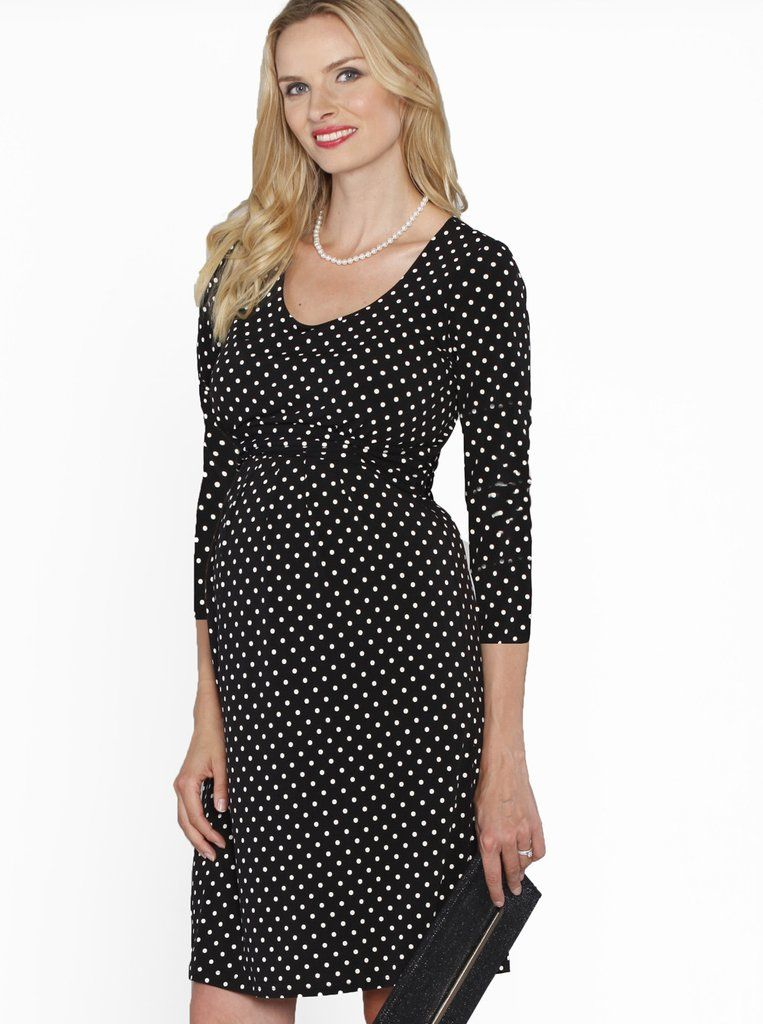 f18c44a3f43b4 'Get Spotted' with our Busy Mummy Nursing Dress in Dots Print, $59.95. A  cute little dress for the office that can easily transition into an  after-work ...