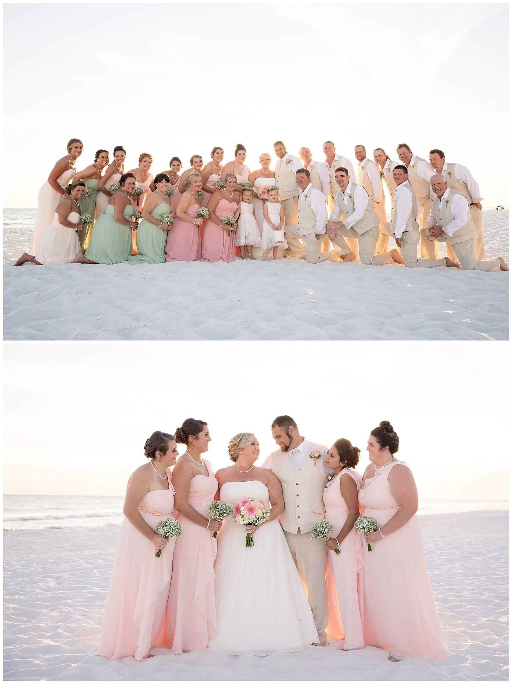 Wedding beach house  Alotta Colada Beach House Wedding  Wedding linens Groomsmen suits