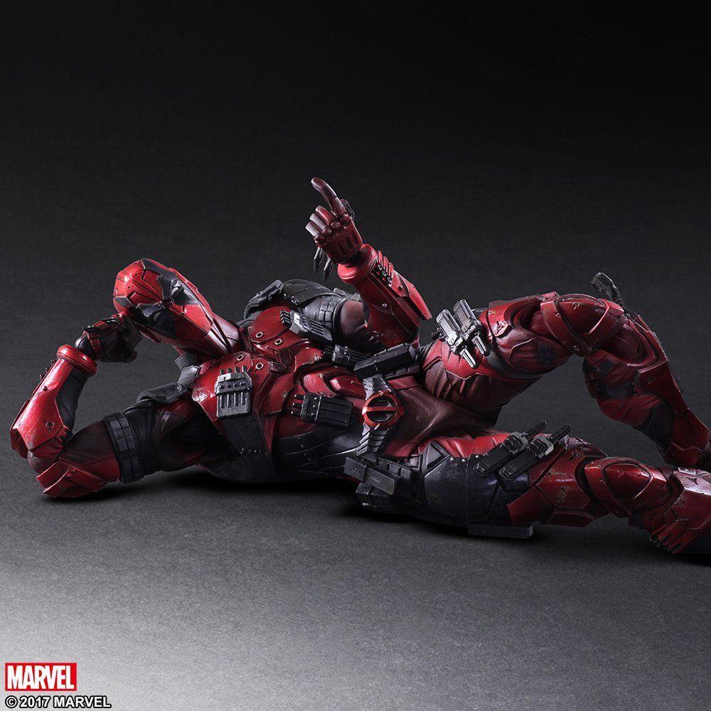 Play Arts Kai PA Deadpool Marvel Variant Action Figure Toy Doll Statue Display
