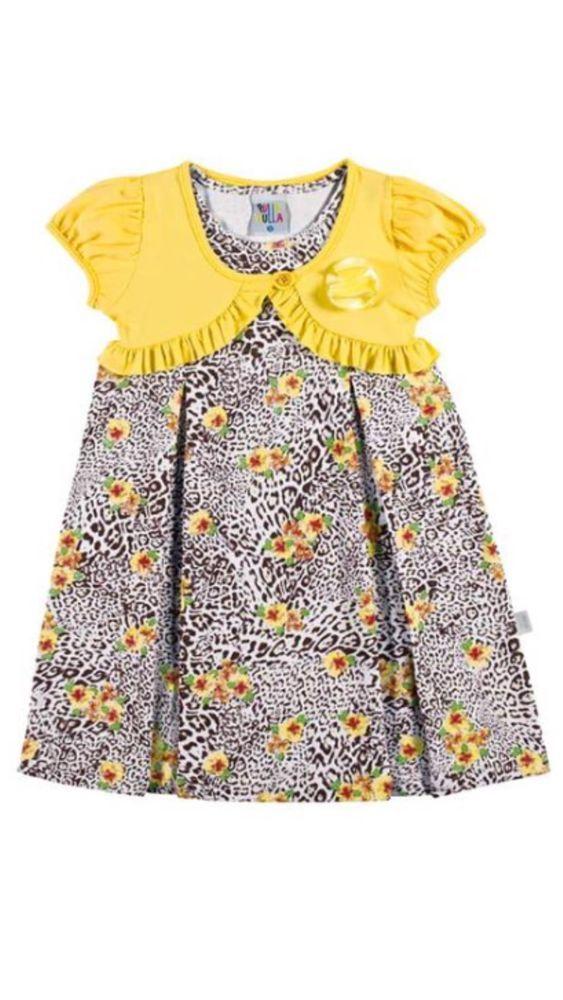 f22685f83e4 Sale Beautiful Girl Dress for Summer Flower Power Cheetah Size 1 T ...