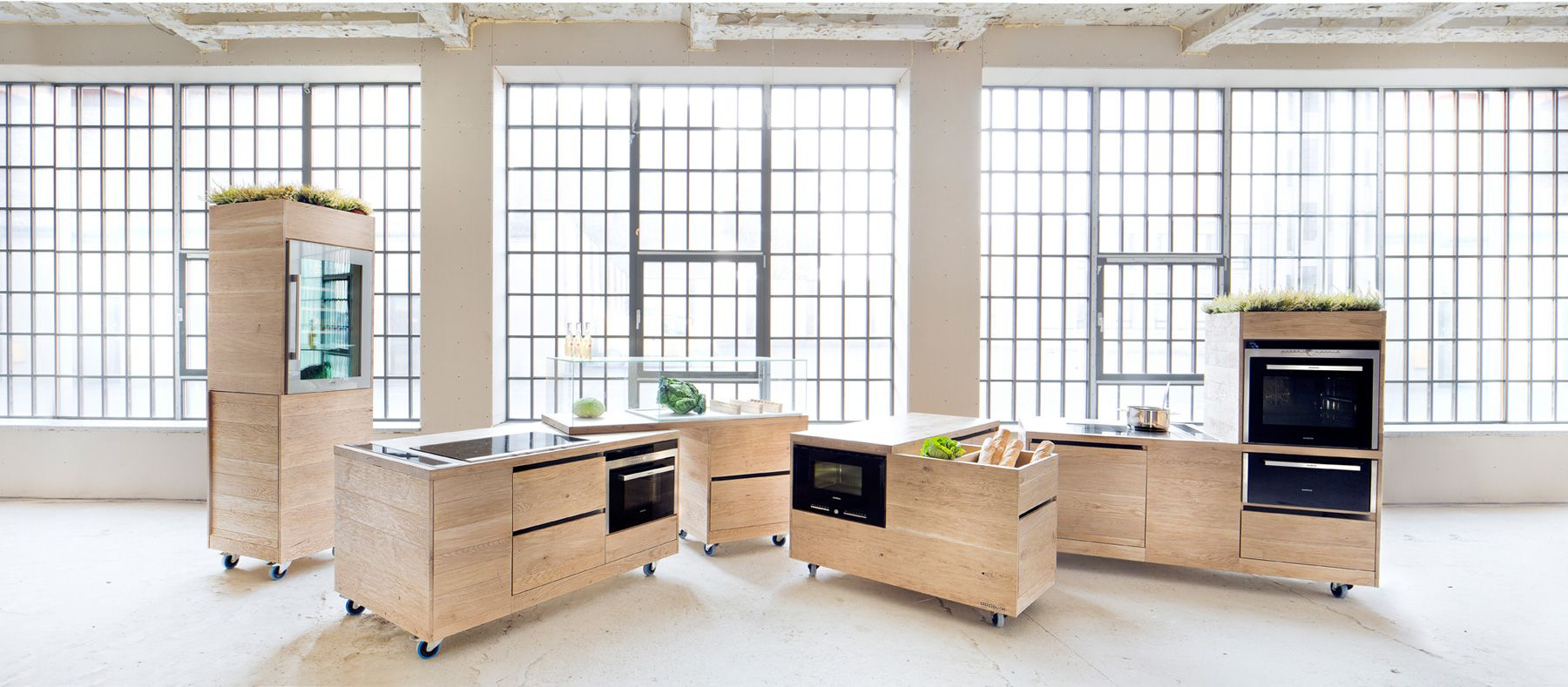 Siemens Foodlab Modular Kitchen  Kitchens Enchanting Compact Modular Kitchen Designs Design Inspiration