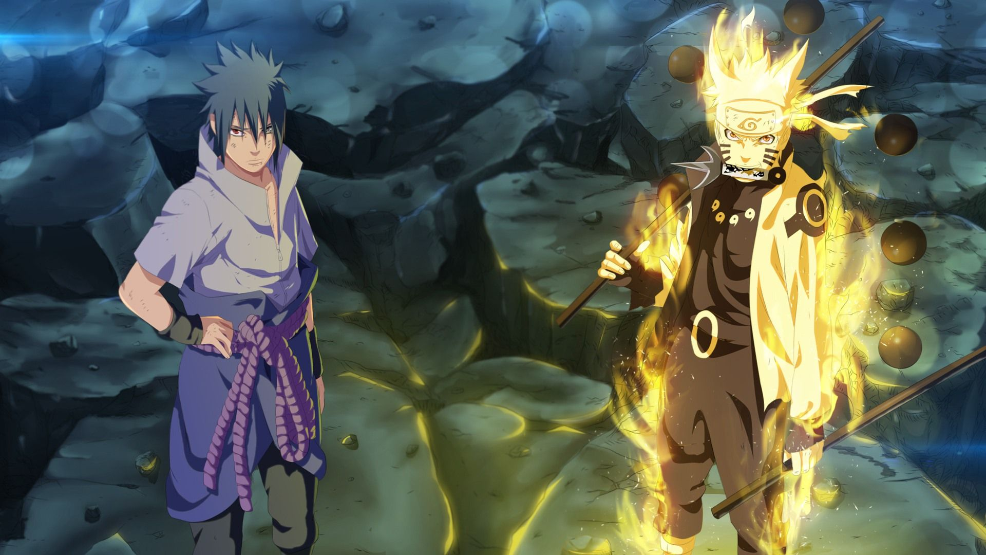 Naruto Six Paths Wallpapers Naruto Dan Sasuke Wallpaper Naruto Shippuden Naruto Shippuden Anime