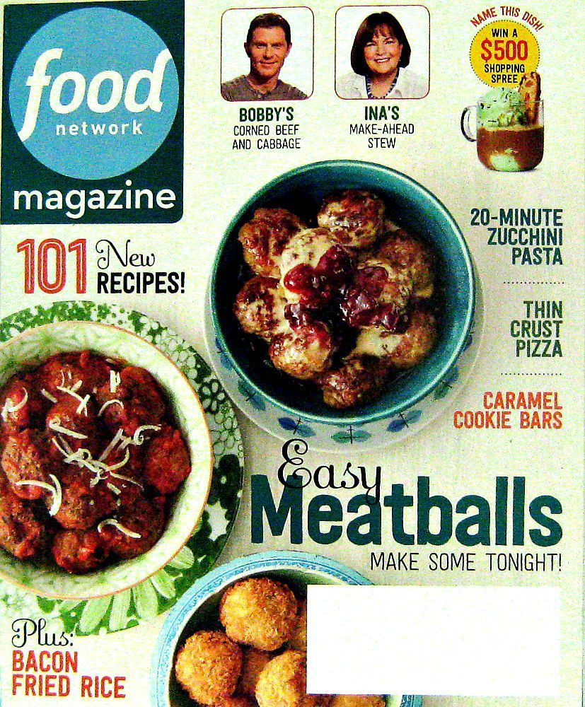 Easy meatball recipes food network magazine march 2015 volume 8 easy meatball recipes food network magazine march 2015 volume 8 number 2 forumfinder Choice Image