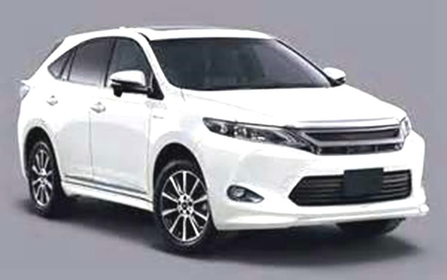2016 Cars Info 2016 Toyota Harrier 2016 Toyota Harrier Realese