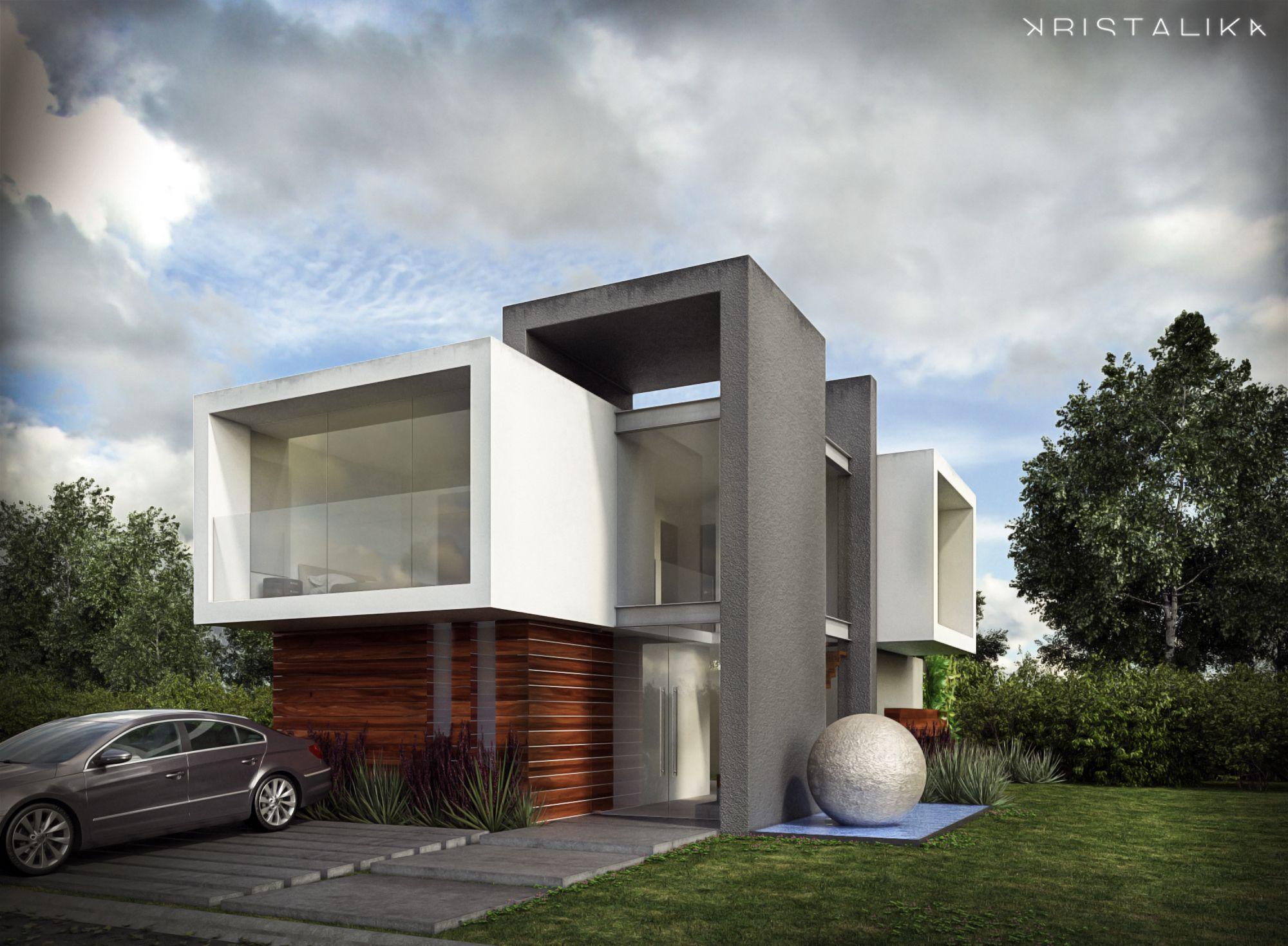 Conception architecturale pour maisons maison moderne for Conception maison moderne