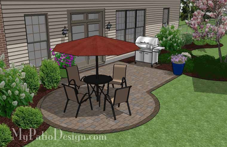 Small Patio Designs On A Budget