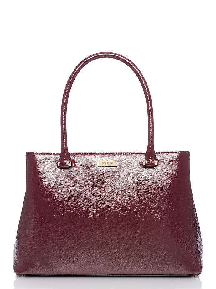 Kate Spade Bixby Place Elena Satchel Handbag Wkru3537 Mulled Wine ...