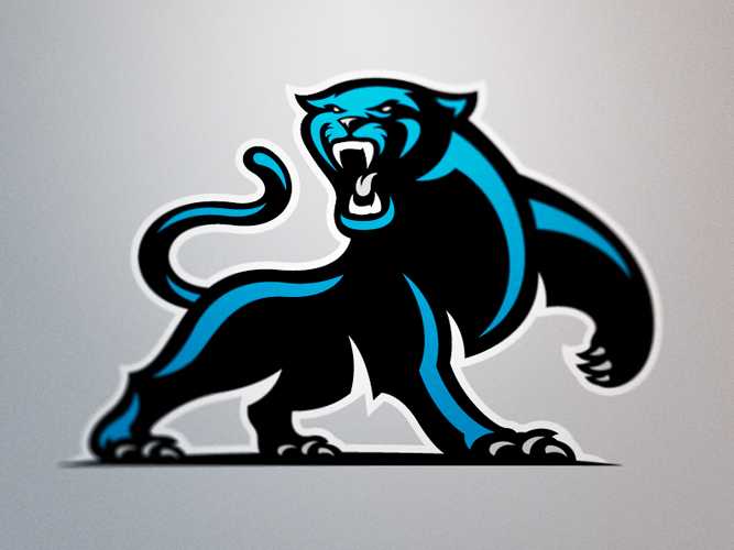 The Carolina Panthers New Logo Is Here Page 29 Sports Logos Animal Logo Sports Logo Design Sports Logo