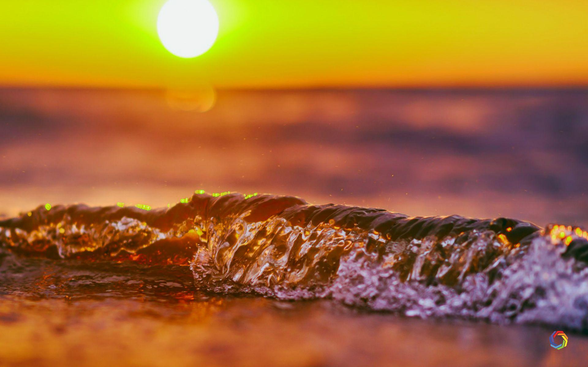 Wave Sunset 4k Wallpaper Full Download Waves