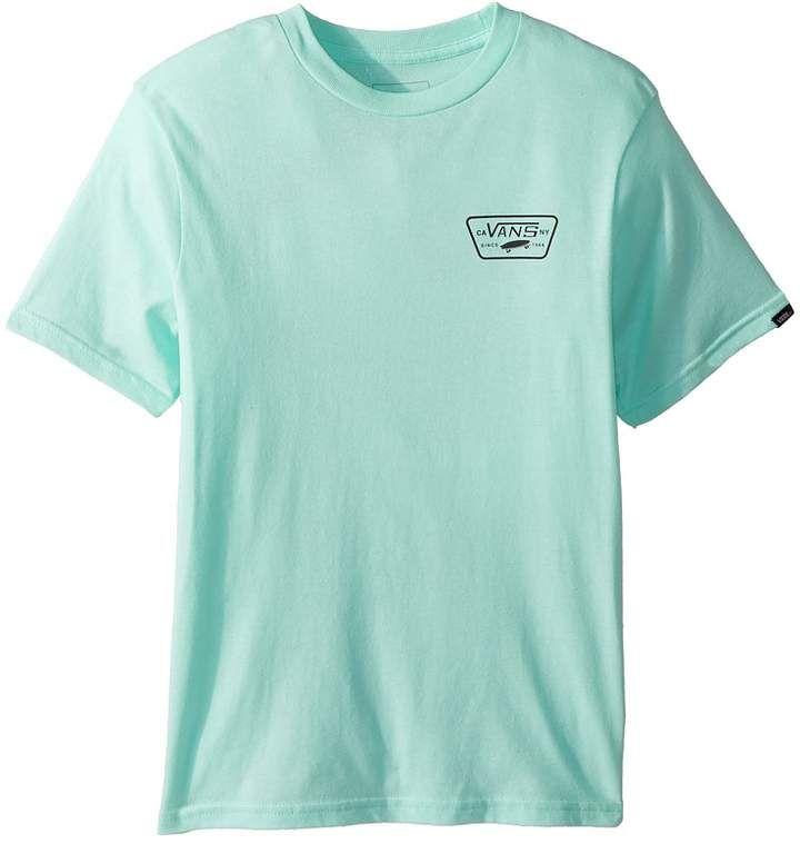 25ea796f06 Vans Kids Full Patch Back Short Sleeve T-Shirt Boy s T Shirt ...