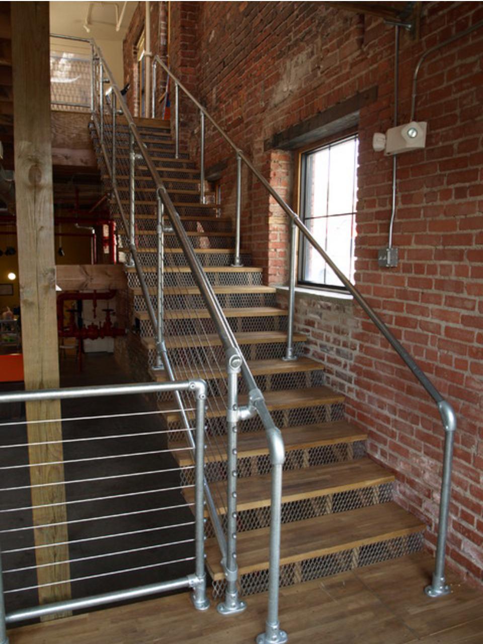 Best Industrial Pipe Galvanized Steel Handrail Kitemedia Co 400 x 300