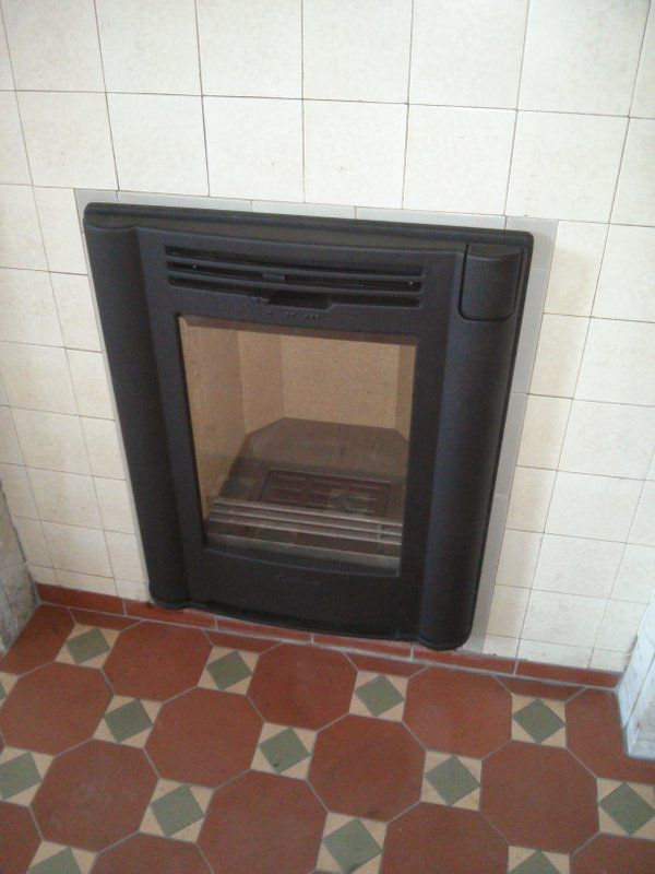 Pin By Contura On Great Installations Fireplace Wood Burning Stove Installation