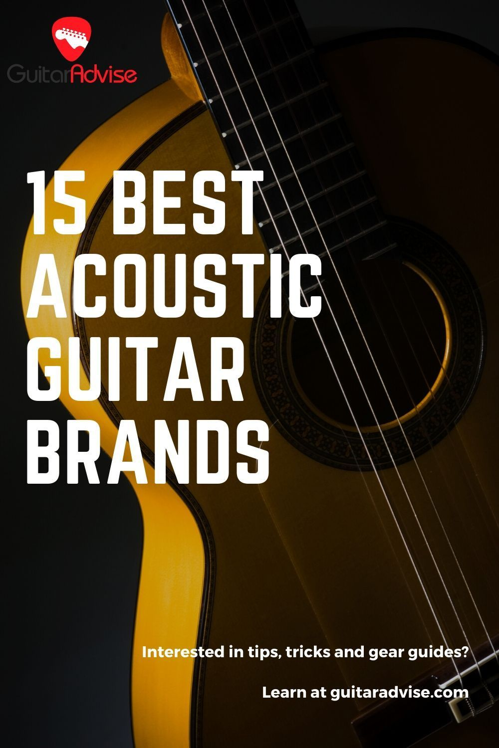 15 Best Acoustic Guitar Brands Best Acoustic Guitar Guitar Lessons Fingerpicking Acoustic Guitar
