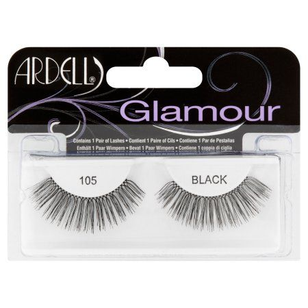 0e35c49085c Ardell Glamour 105 Black Lashes, 1 pair Ardell Glamour Lashes, Ardell Lashes,  Black