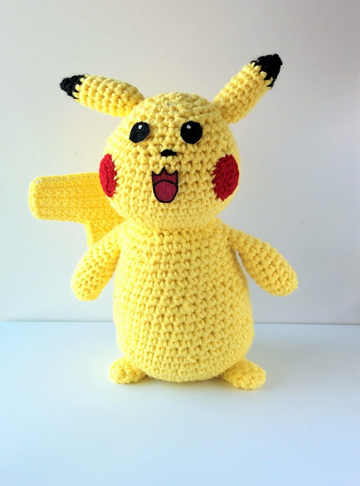 Crochet pokemon pattern free pikachu plushie crochet