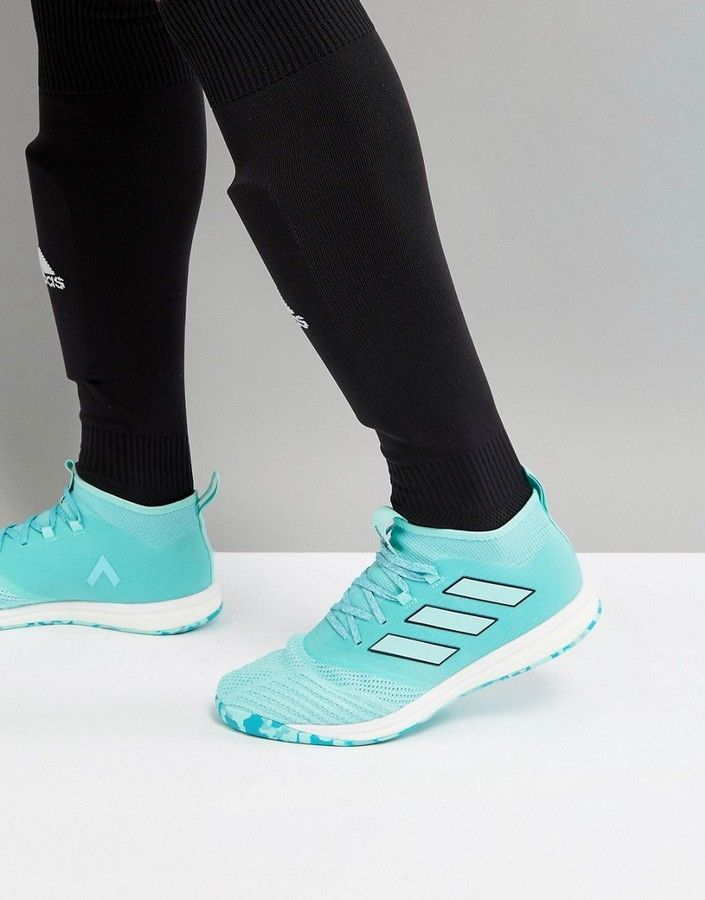 timeless design dfd47 c1a8e Adidas adidas Soccer Ace Tango 17.1 Boost Sneakers In Blue ...