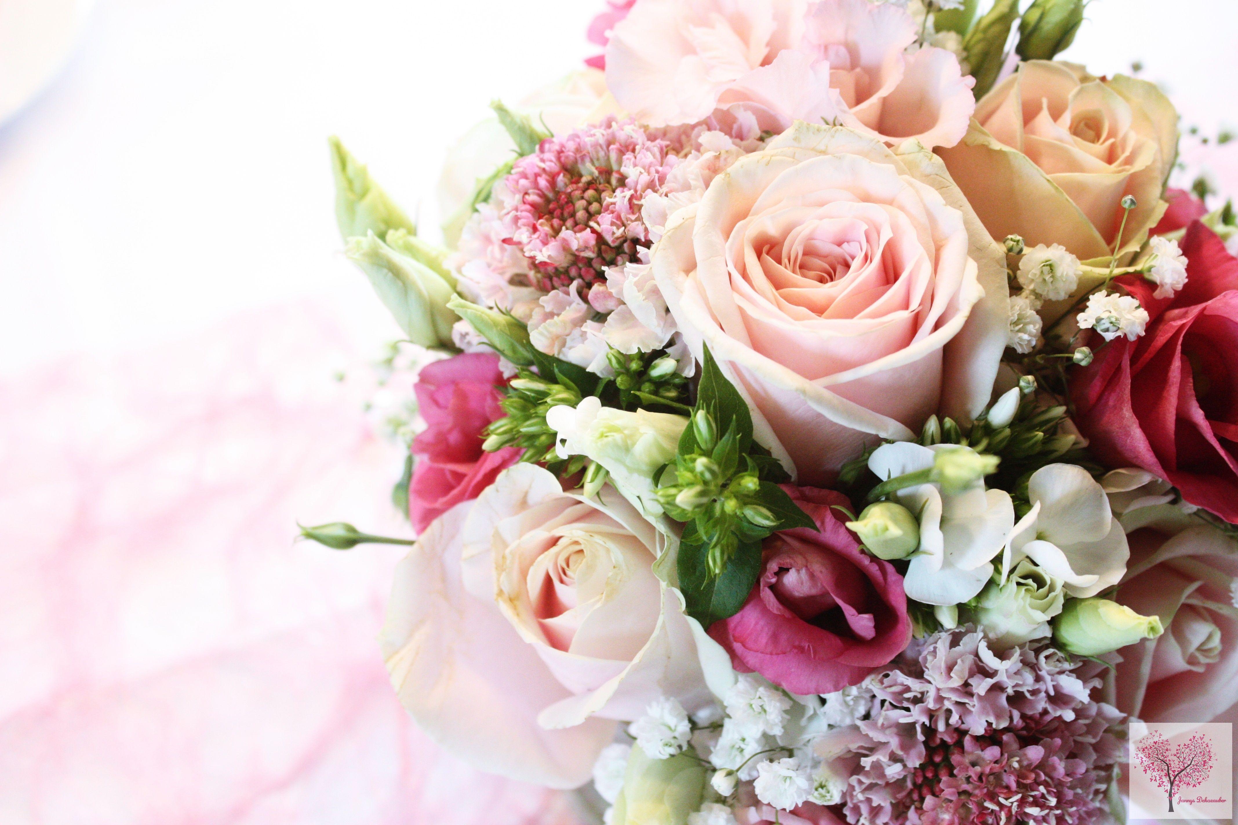 Rosen Rosa Altrosa Sizoweb Blumenstrauss Hochzeit Tischdeko Flowers