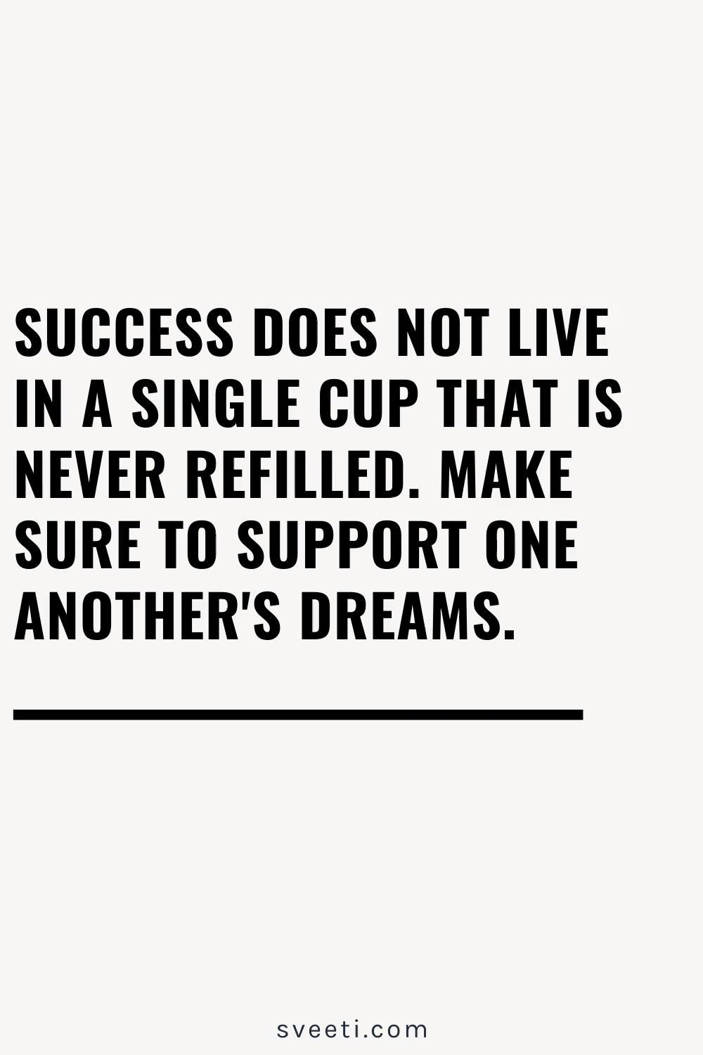 Success for All Quote, Empowered Women, Empower Women.