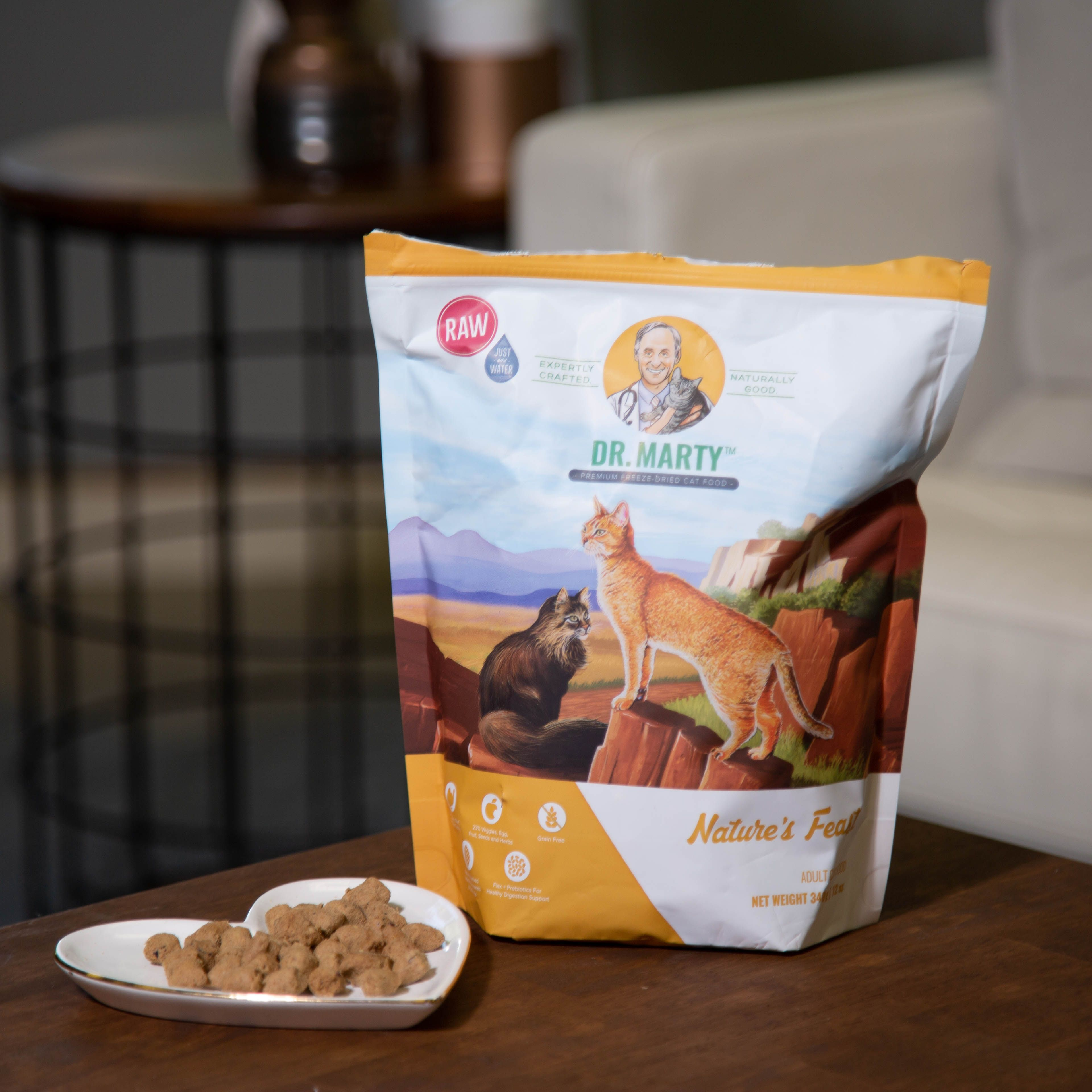 Nature's Feast Returning Customer Raw cat food recipes