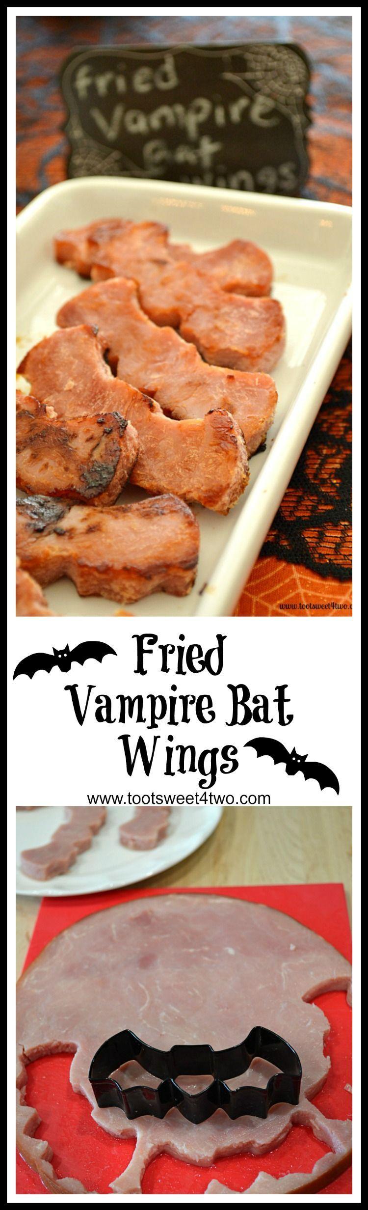 Fried Vampire Bat Wings: Make Your Halloween Breakfast Scary Fun! - Toot Sweet 4 Two