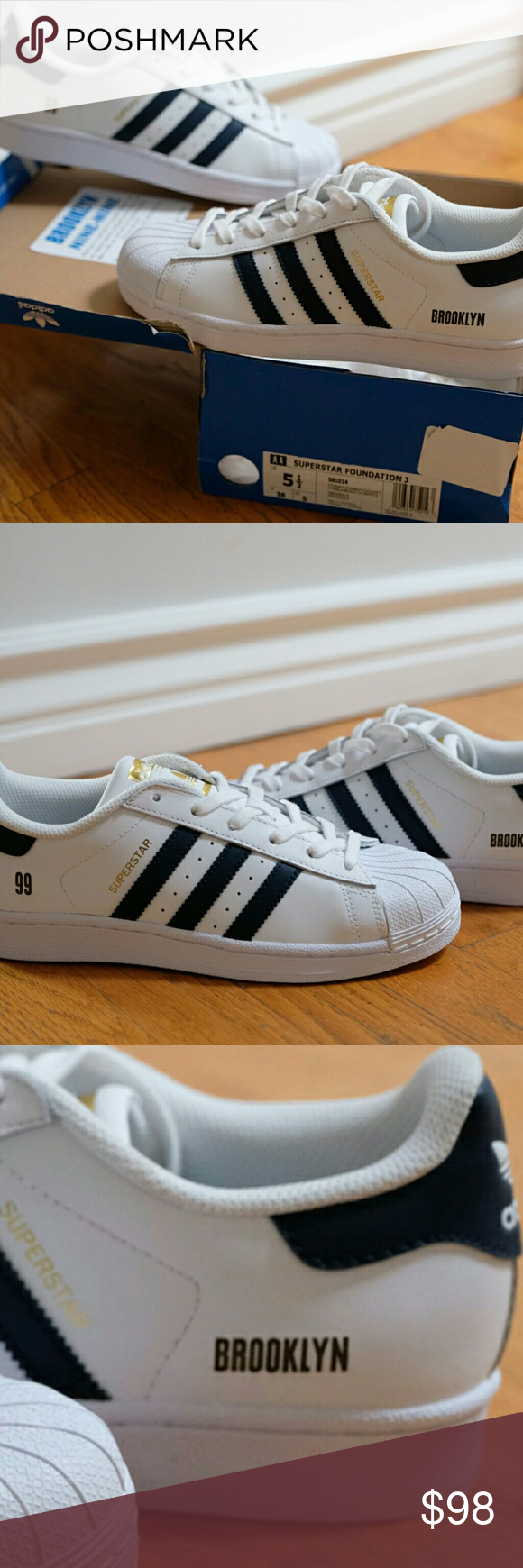 Adidas Superstar Brooklyn 99 ooak TV Show costumbres Pinterest