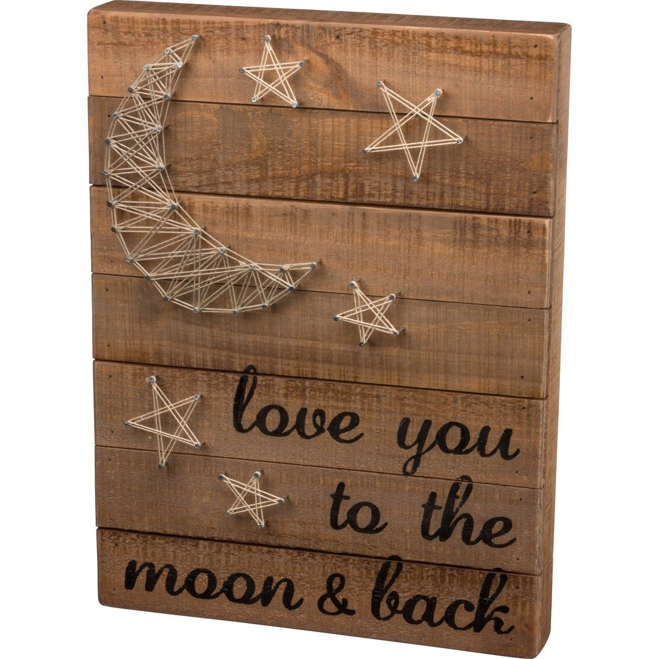 String Art - Love You To The Moon & Back #stringart