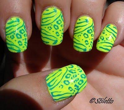 yellow & green <3