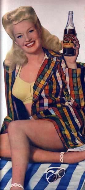 History of Art: Pin-up Art - Betty Grable