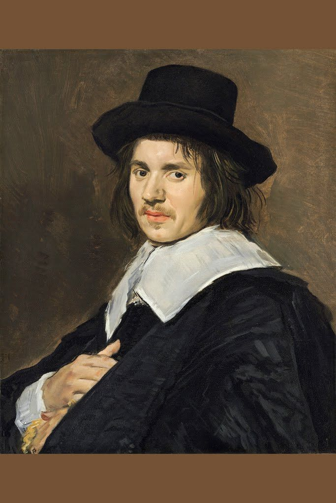 Portrait of a Man I, by Frans Hals