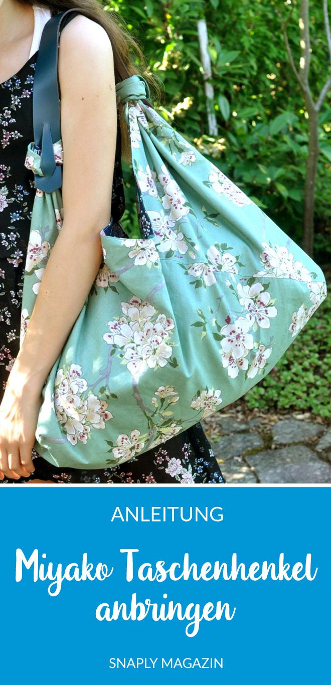 Miyako Taschenhenkel anbringen – so funktioniert's | Snaply-Magazin