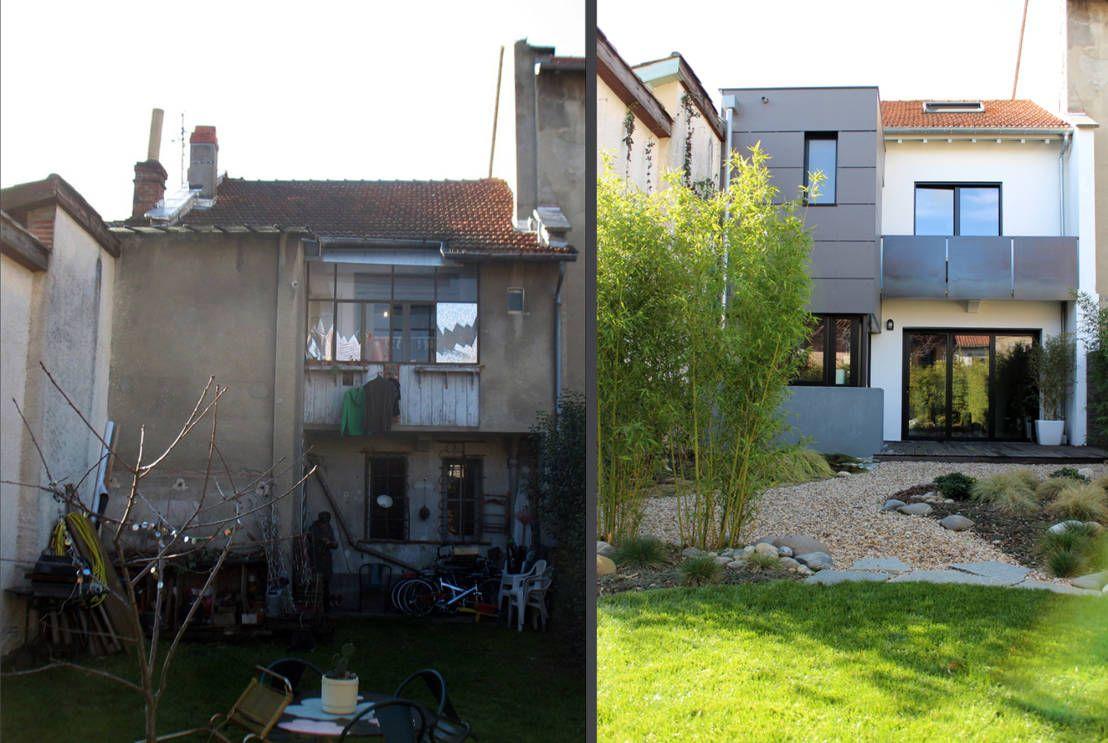 Fesselnde Moderne Einfamilienhäuser Galerie Von Wie Aus Einer Heruntergekommenen Baracke Ein Modernes