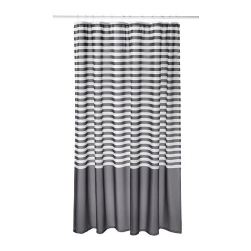 Vadsjon Shower Curtain Dark Gray 71x71 Gray Shower Curtains