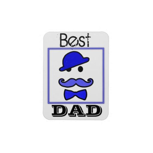 Best DAD Premium Flexi Magnet