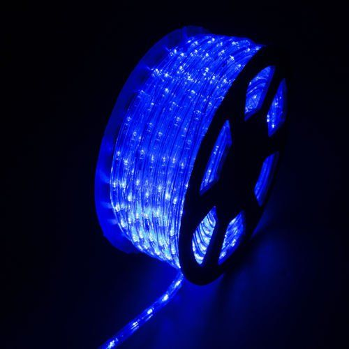 100ft Led Rope Light Home In Outdoor Christmas Decorative Party Blue 110v You Can Find More Details At Led Rope Lights Led Bulb Rope Light