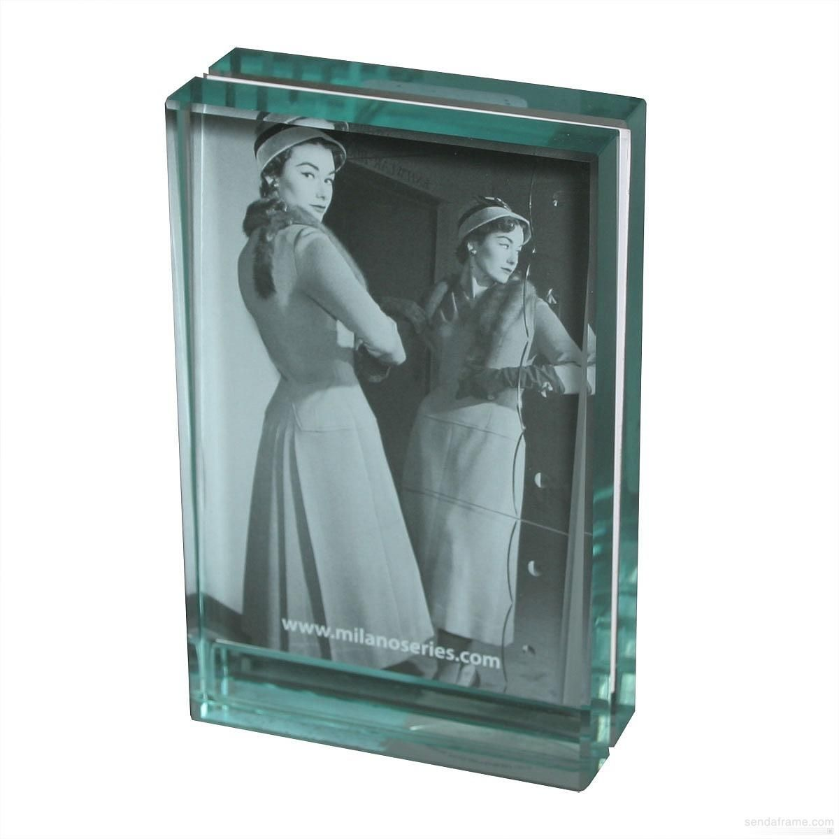 Clarity glass block frame by milano series comes in sizes up to 5 clarity glass block frame by milano series comes in sizes up to 5 x 7 jeuxipadfo Gallery