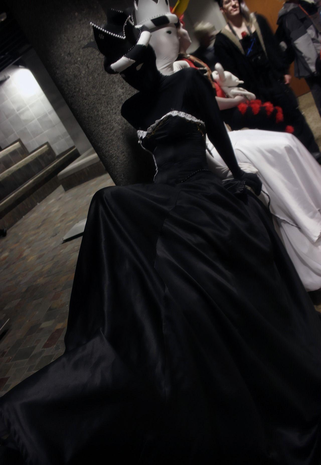 Captaincrunchcosplay Homestuck Cosplay Black Queen Victorian Dress [ 1851 x 1280 Pixel ]
