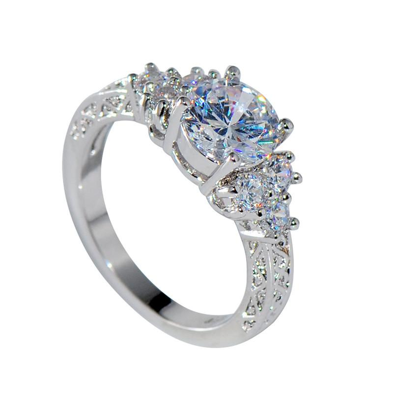 30++ White sapphire wedding rings white gold ideas in 2021