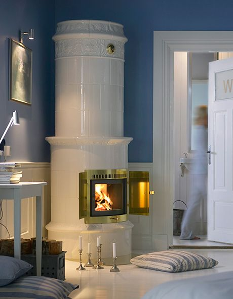 Contura Swedish Tile Stoves With Modern Technology Nordic Design Wood Burning Stove Swedish Interiors