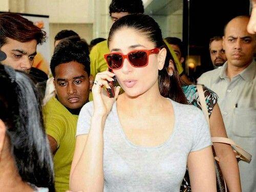 beab3034f3b Pin by Sunglasses India on Kareena Kapoor Wearing Sunglasses ...