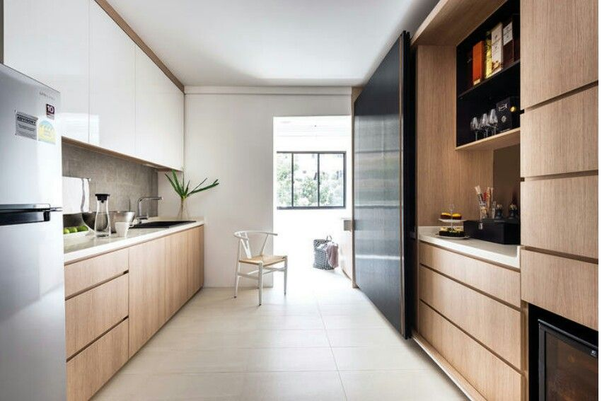 Kitchen Scandinavian Theme  Home & Decor  Pinterest  Kitchens Extraordinary Kitchen Design Singapore Hdb Flat Design Ideas